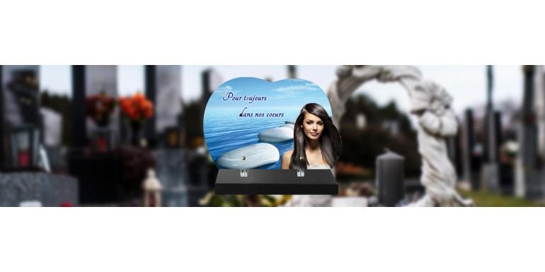 Comment ajouter une photo sur une plaque funéraire ?