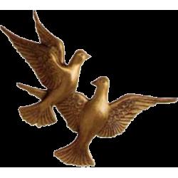 Bronze double ois B4050