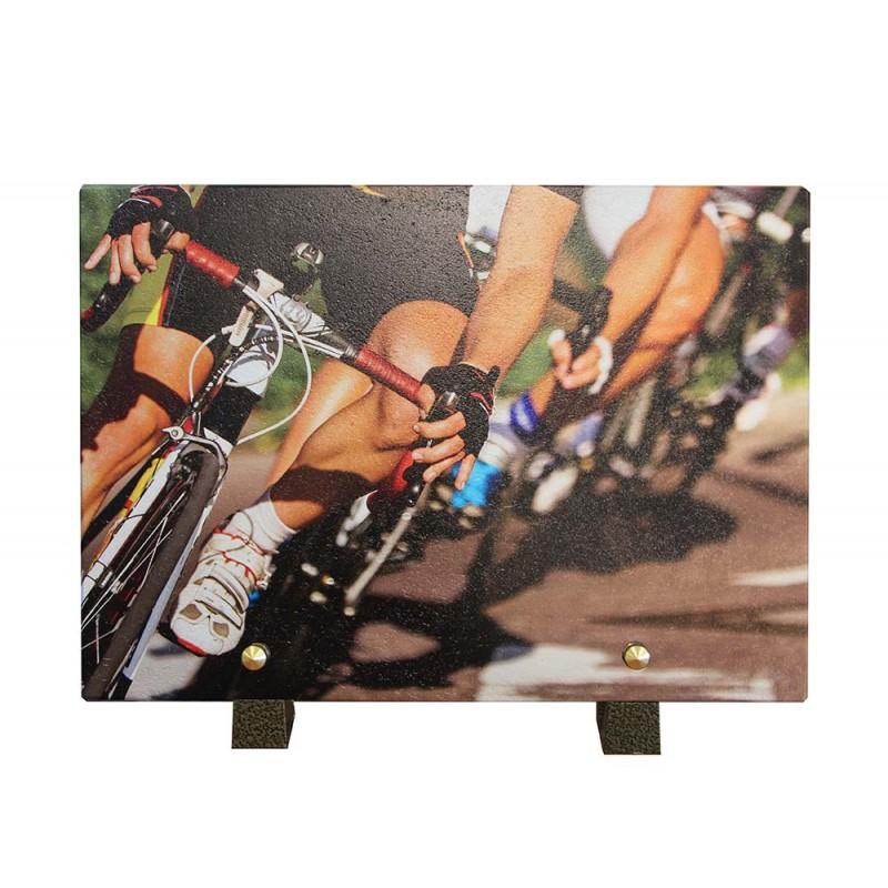 plaque funeraire cycliste