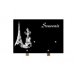 plaque souvenir granit