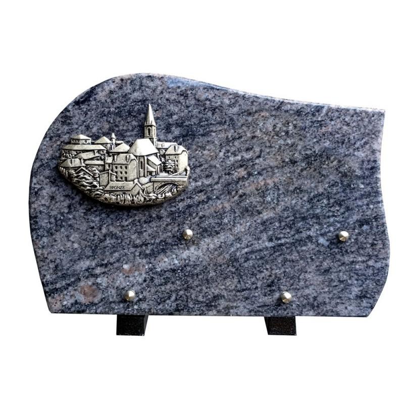 plaque cimetiere granit