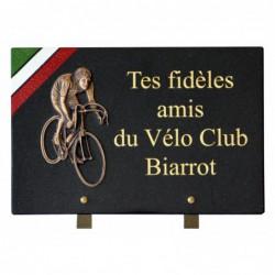 plaque cimetière cycliste