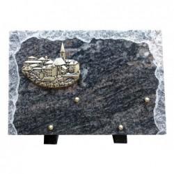 Plaque granit n°283 HB...