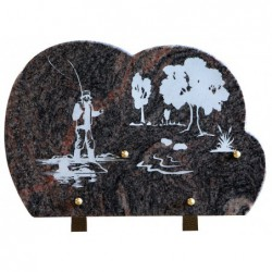 Plaque granit n°260D HB...