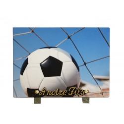 plaque cimetière football
