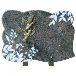Plaque granit n°361C HB...