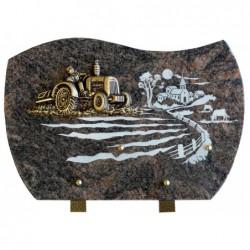 Plaque granit n°356D HB...