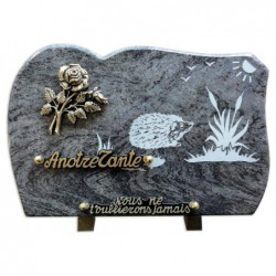 Plaque granit n°GV22 MS...
