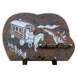 Plaque granit n°GV21 ML...