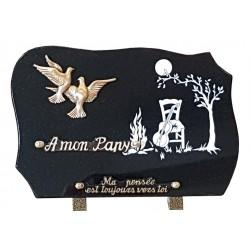 plaque funéraire gens du voyage