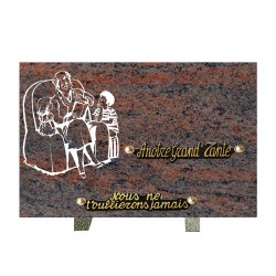 Plaque granit n°280q Ml...