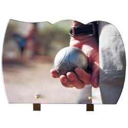 plaque funeraire granit bouliste