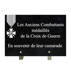 Croix de Guerre-1  20x30  cm
